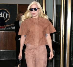 Lady Gaga : exit le look déjanté, elle opte pour une tenue nude à New York