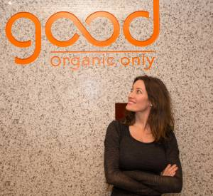 Good Organic Only, la marque de jus bio et bons de Mareva Galanter.
