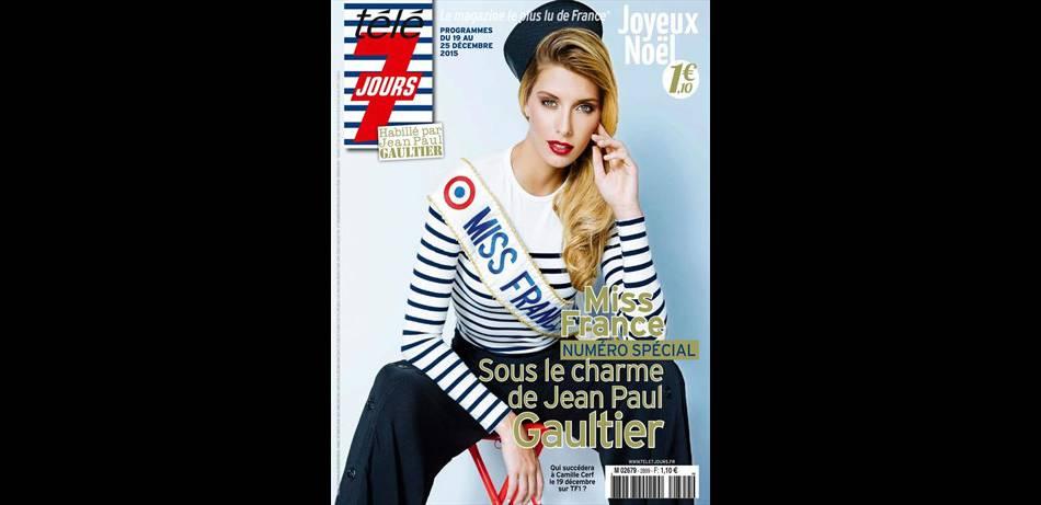 Camille Cerf se confie à  Télé 7 Jours,  dans le numéro du 19 au 25 décembre.
