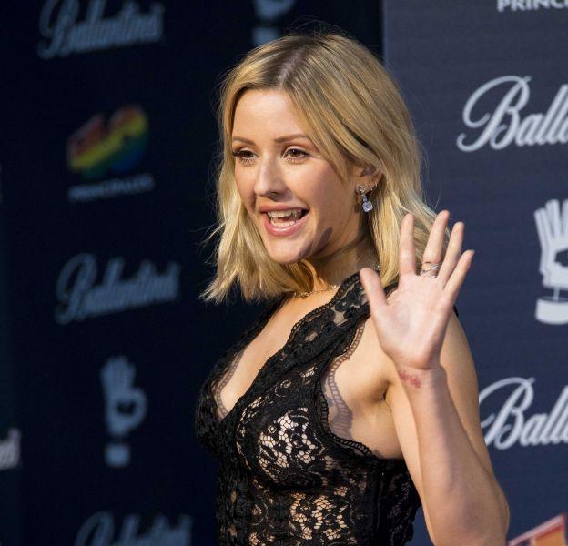 """Ellie Goulding, sublime à la cérémonie des """"40 principales Gala Awards""""."""