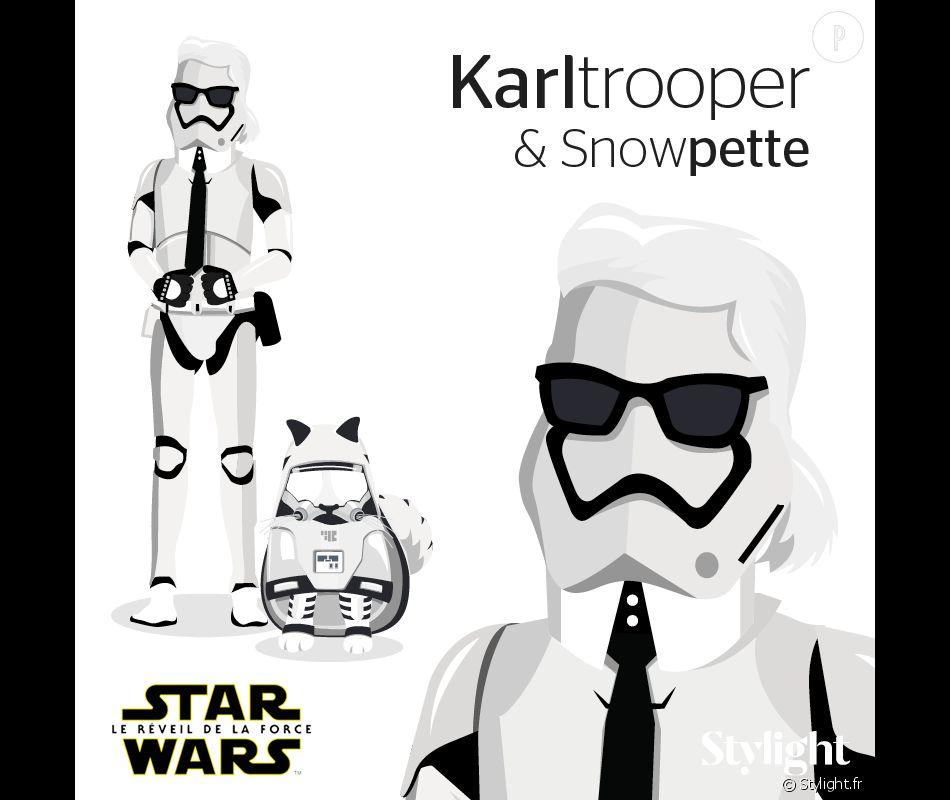 Stormtrooper devient Karltrooper et Snowtrooper, Snowpette.
