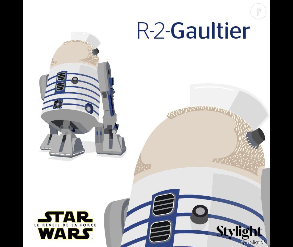 R2D2 aka R-2-Gaultier.