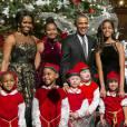 Michelle Obama s'apprête à fêter Noël une fois de plus à la Maison Blanche.