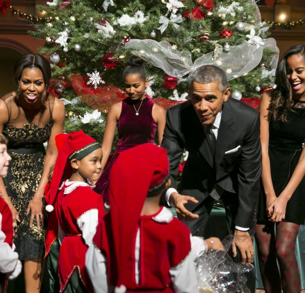 Les Obama, une famille presque normale.