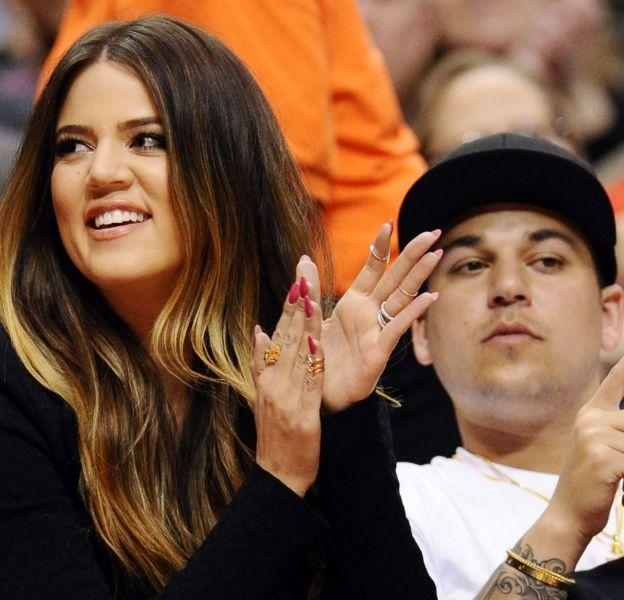 Khloe Kardashian a ému Instagram avec un message à l'intention de son frère, Rob.