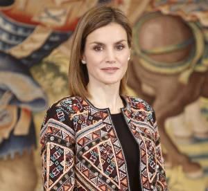 Letizia d'Espagne et sa veste ethnique Zara : une femme comme nous