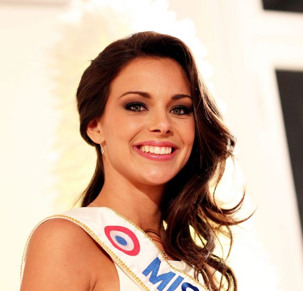 Marine Lorphelin élue Miss France en 2013.