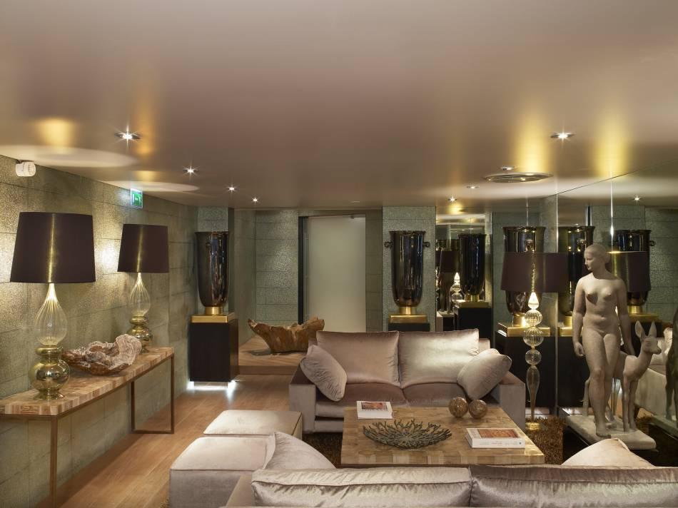 la salle de repos du spa. Black Bedroom Furniture Sets. Home Design Ideas