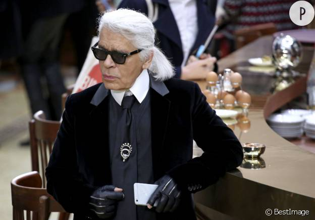 Karl Lagerfeld, le Kaiser de la mode.