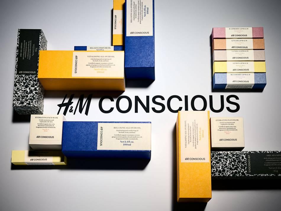 H&M Beauty Conscious : la ligne de soins bio par H&M.