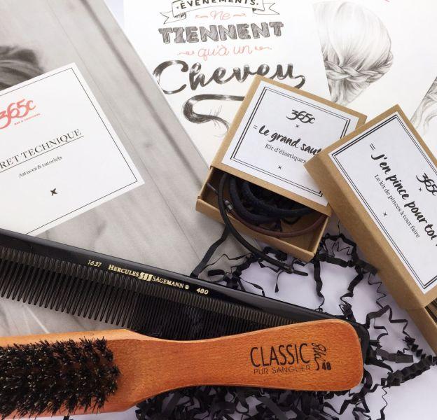 La box 365c, idée cadeau à offir à une fan de coiffures.