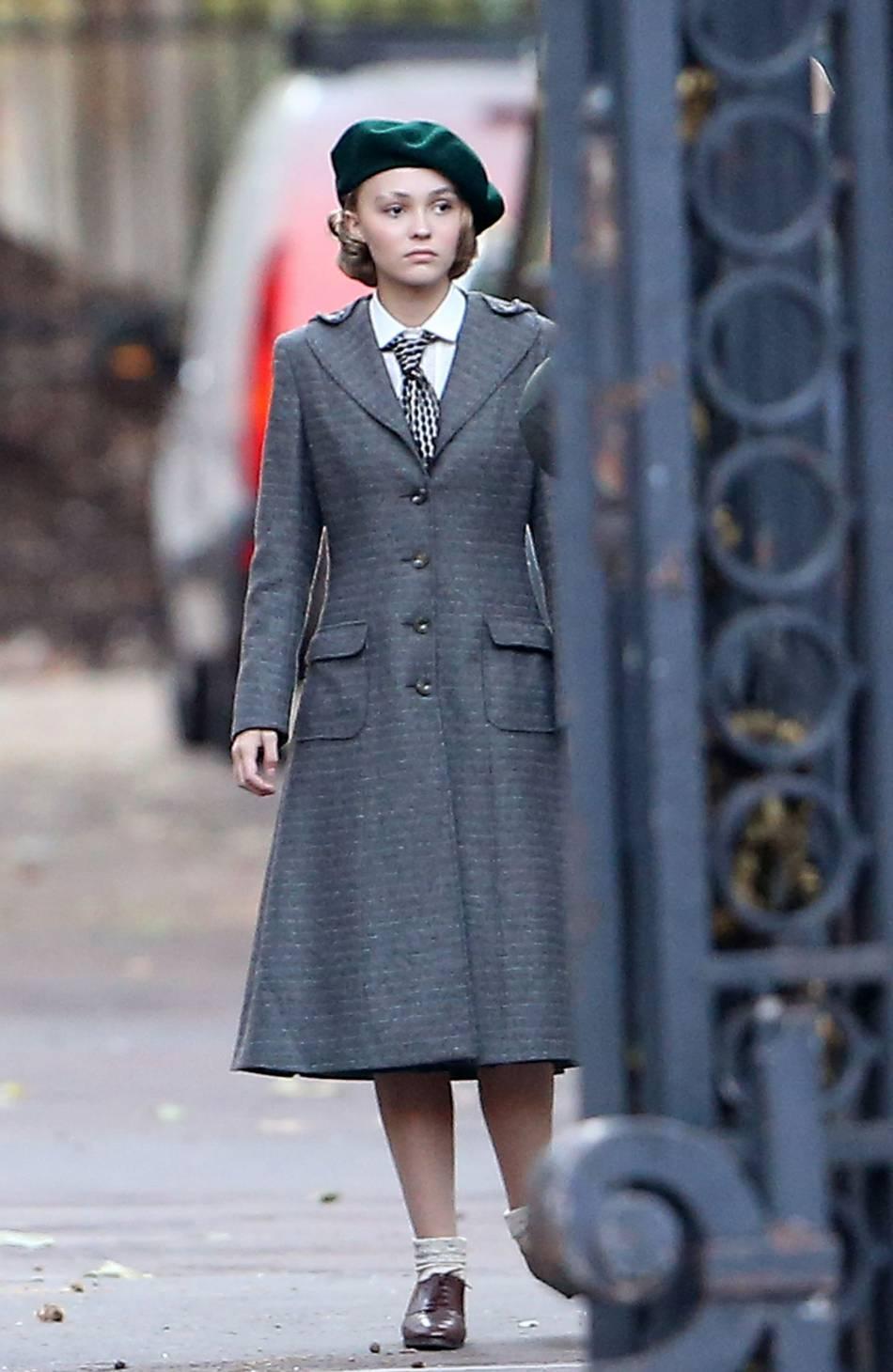 Lily-Rose Depp a décroché plusieurs rôles au cinéma. Petite Lily voudrait devenir une grande !
