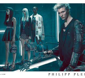 Univers futuriste pour la campagne Philipp Plein Printemps-Été 2016 shootée par Steven Klein.