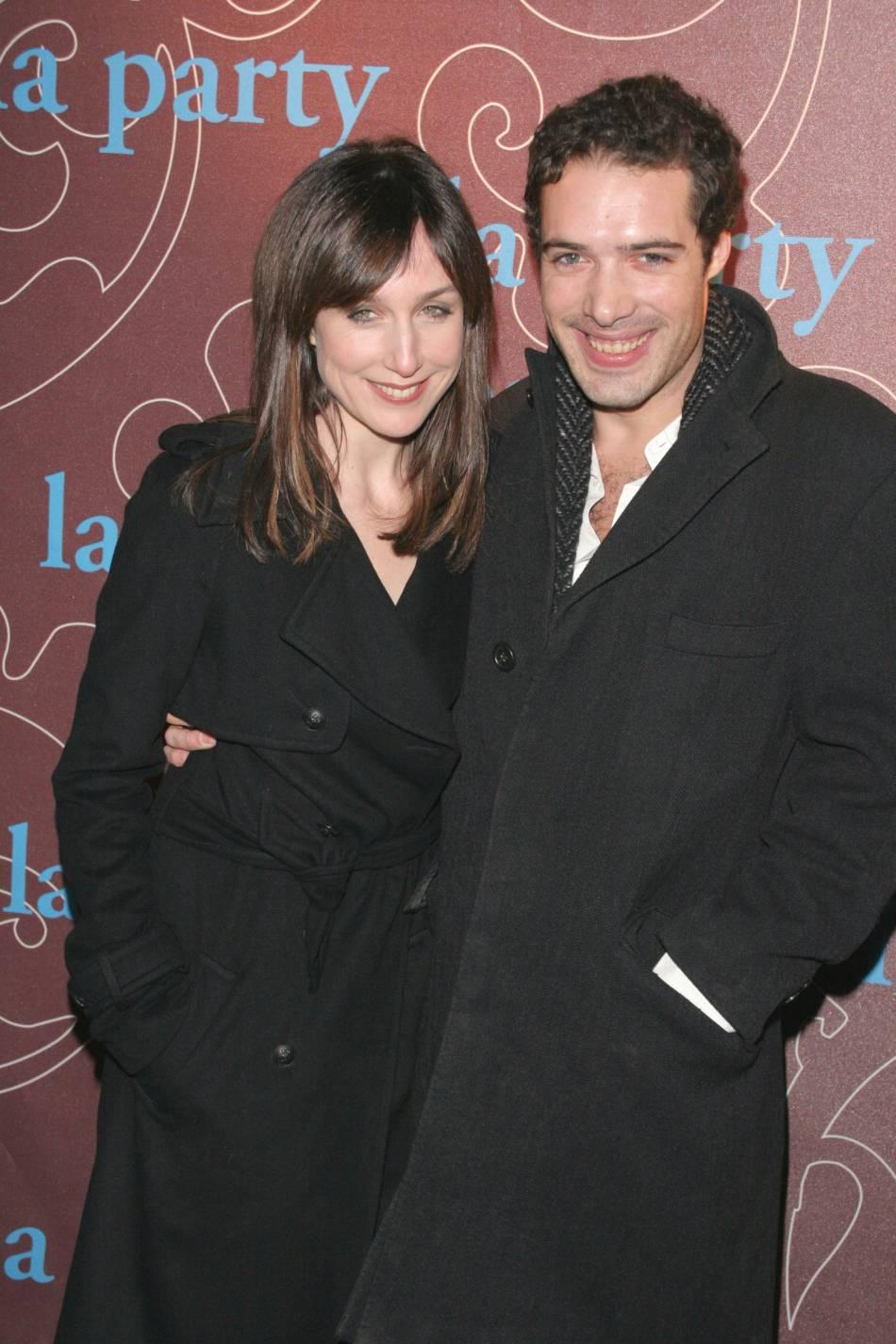 """Elsa Zylberstein et Nicolas Bedos en 2006, celui qui l'"""" a reconnectée à la vie """"."""