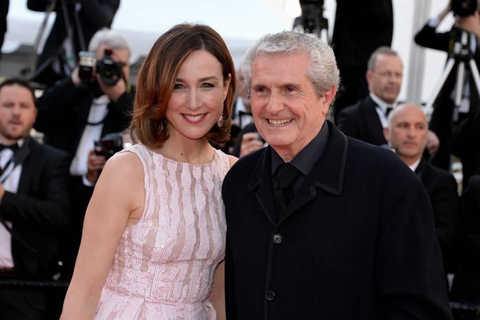 """Elsa Zylberstein et Claude Lelouch, réalisateur du film """"Un + une""""."""