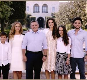 La famille royale de Jordanie dévoile sa carte de voeux pour 2016.