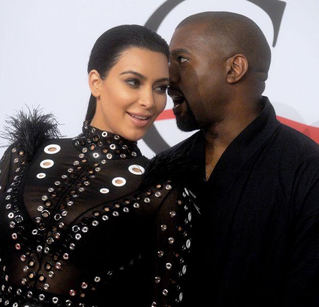 Kim Kardashian et Kanye West ont réveillonné chez Kris Jenner.