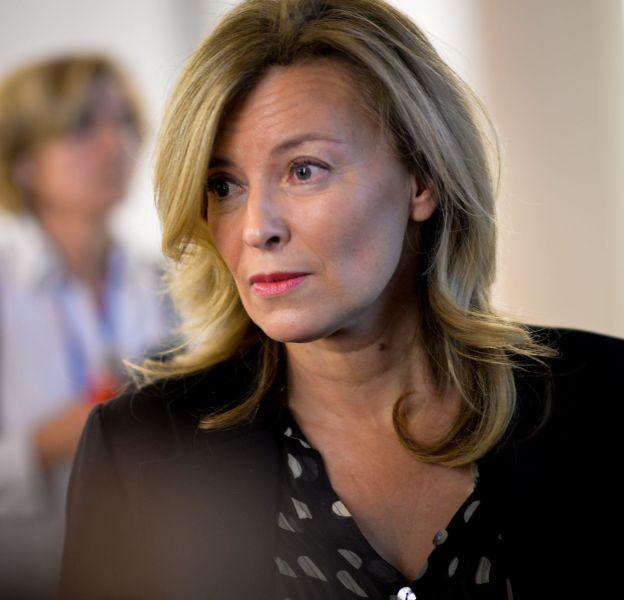 Valérie Trierweiler a opté pour un blond doux.