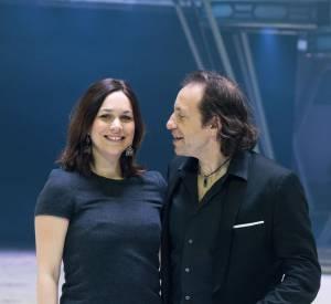 Philippe Candeloro n'est pas insensible au charme de Nathalie Péchalat.