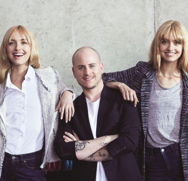 Les jumelles Soles et le coiffeur Giulio Panciera mettent au défi le protocole de soins réparateurs Pro Fiber de L'Oréal Professionnel.