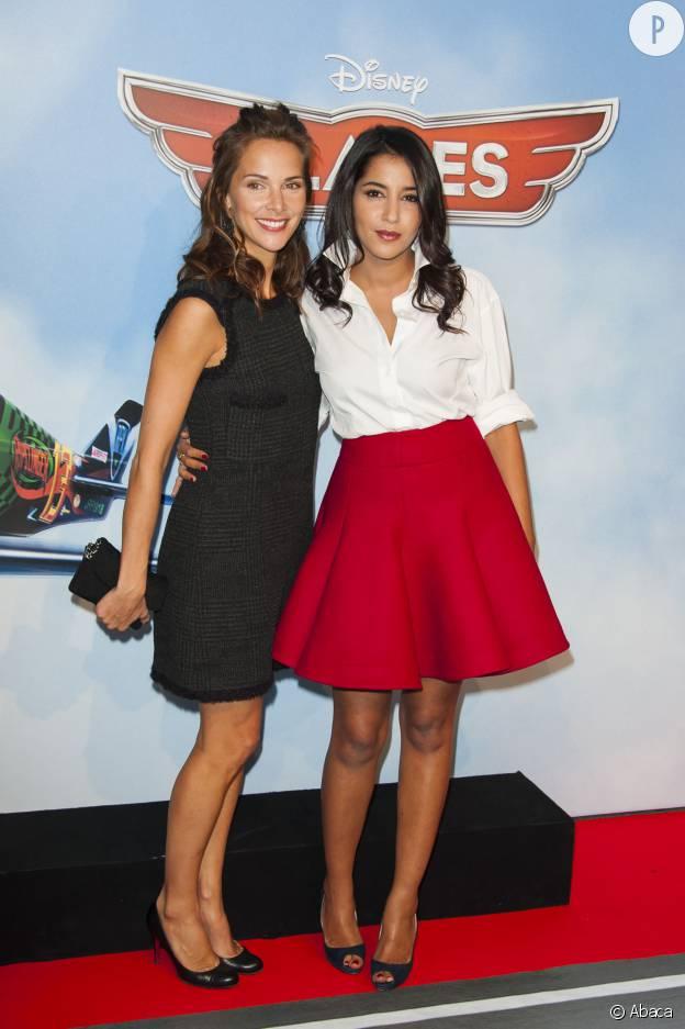 Leïla Bekhti et Melissa Theriau
