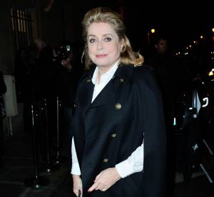 Catherine Deneuve : la muse d'Yves Saint Laurent au premier rang Saint Laurent