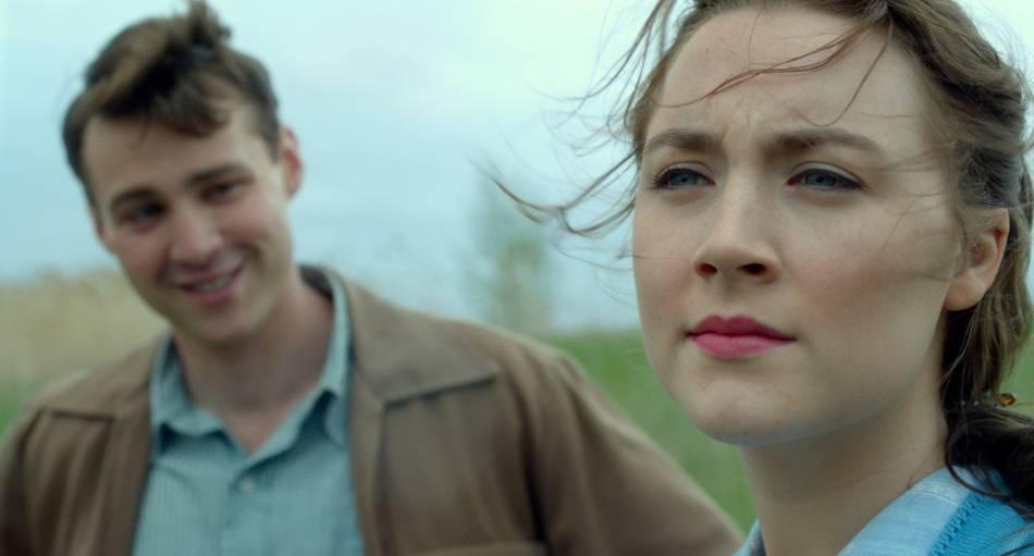 """Saoirse Ronan a été nommée à l'Oscar de la meilleure actrice pour son rôle dans """"Brooklyn""""."""