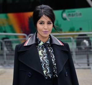 Leïla Bekhti : absolument ravissante et glamour pour le défilé Miu Miu