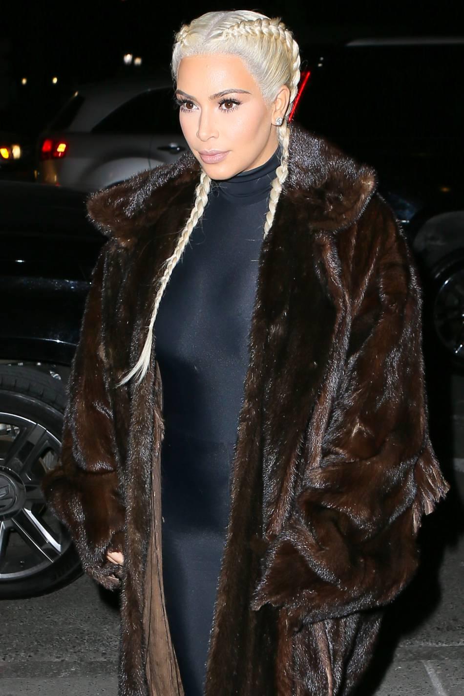 Kim Kardashian peut dire merci à sa coiffeuse.