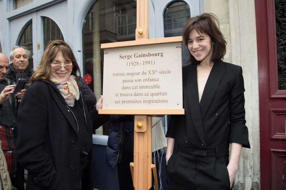 Jane Birkin était aussi présente.