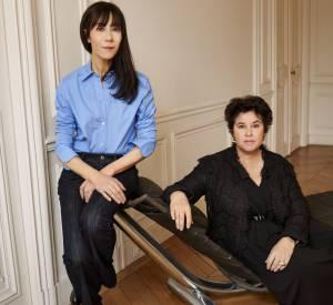 Bouchra Jarrar et Michèle Huiban, la directrice générale de Lanvin.