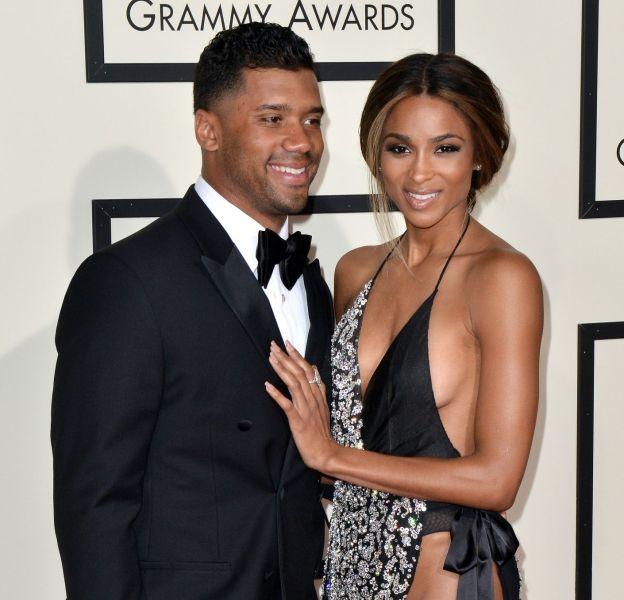 La chanteuse Ciara et son compagnon, Russell Wilson