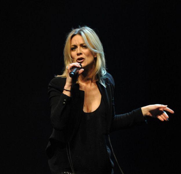 La chanteuse et imitatrice, Véronic DiCaire