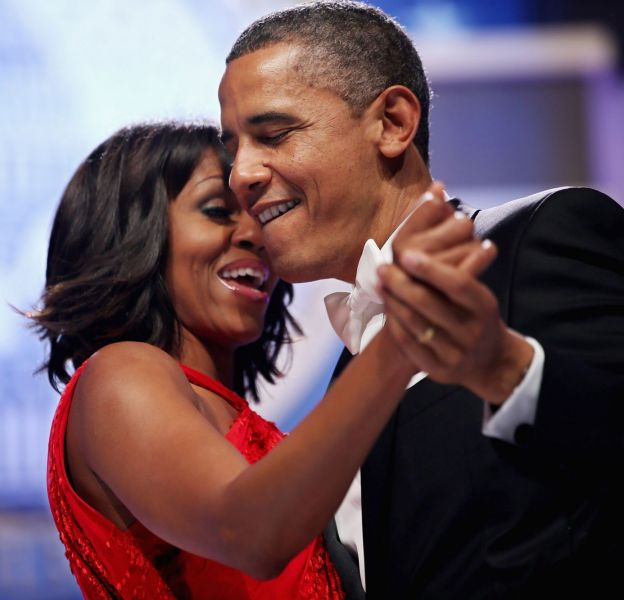 Barack et Michelle Obama sont amoureux comme au premier jour.
