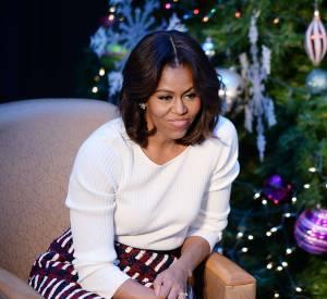 La First Lady a des courbes et en est fière.