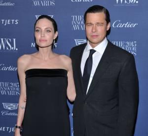 Angelina et Brad Pitt, la mine sombre pendant leur sortie en famille