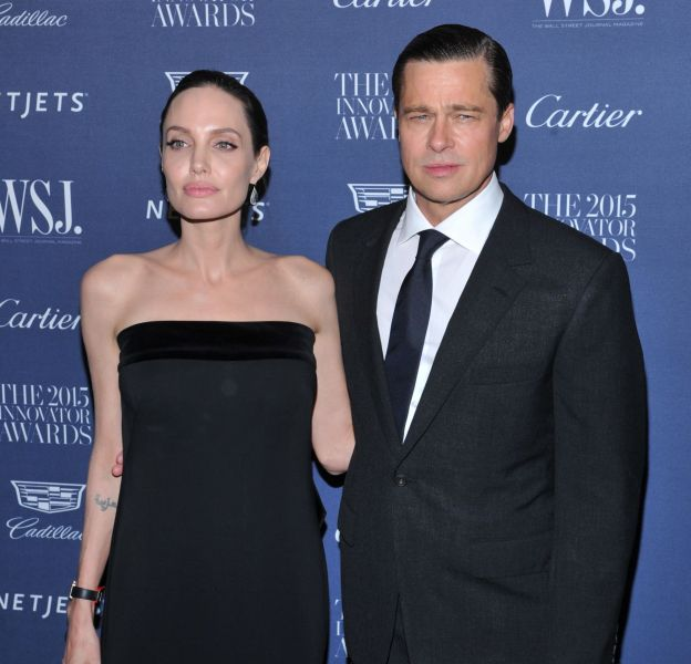 Angelina Jolie et Brad Pitt seraient au bord du divorce.