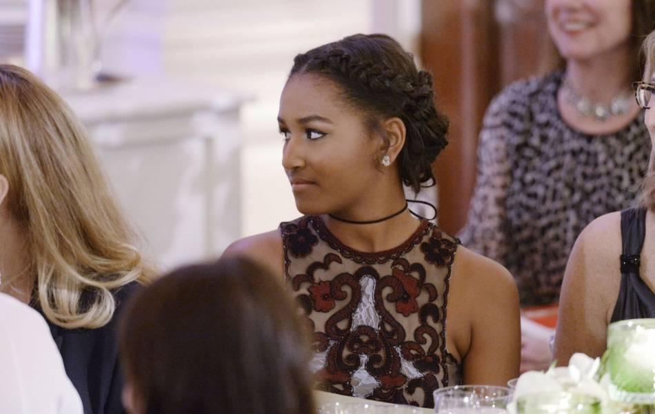 Sasha Obama : à 14 ans, elle a joué les princesses à la Maison Blanche lors d'un dîner 100% VIP.