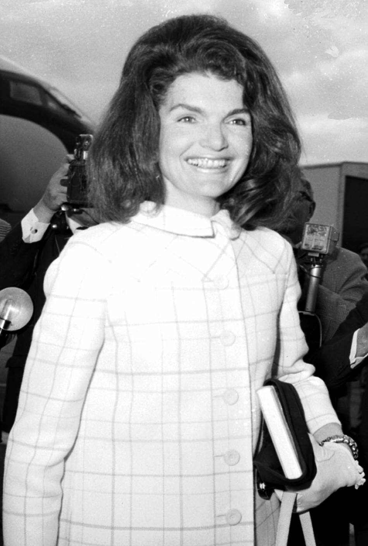 Jackie Kennedy en 1966.