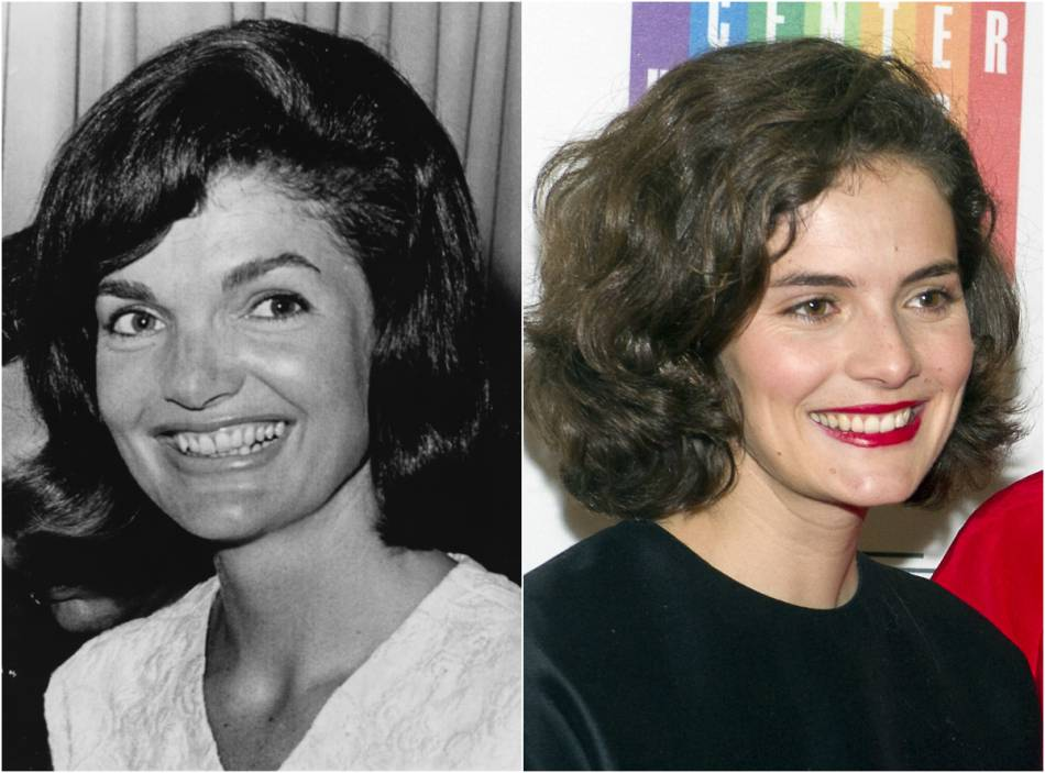Jackie kennedy sa petite fille est son portrait crach puretrend jackie kennedy en 1964 et rose kennedy schlossberg en 2014 altavistaventures Images