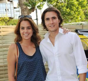 Anouchka Delon et son compagnon depuis 2010, Julien Dereims.