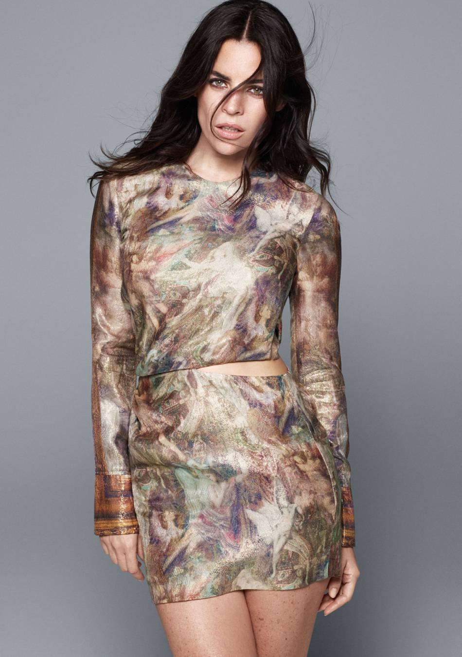 L'une des toiles de Gustave Moreau devient imprimé pour la collection H&M Conscious Exclusive.