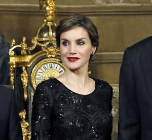 Letizia d'Espagne : la reine en tenue de soirée, enfin un peu de glamour !