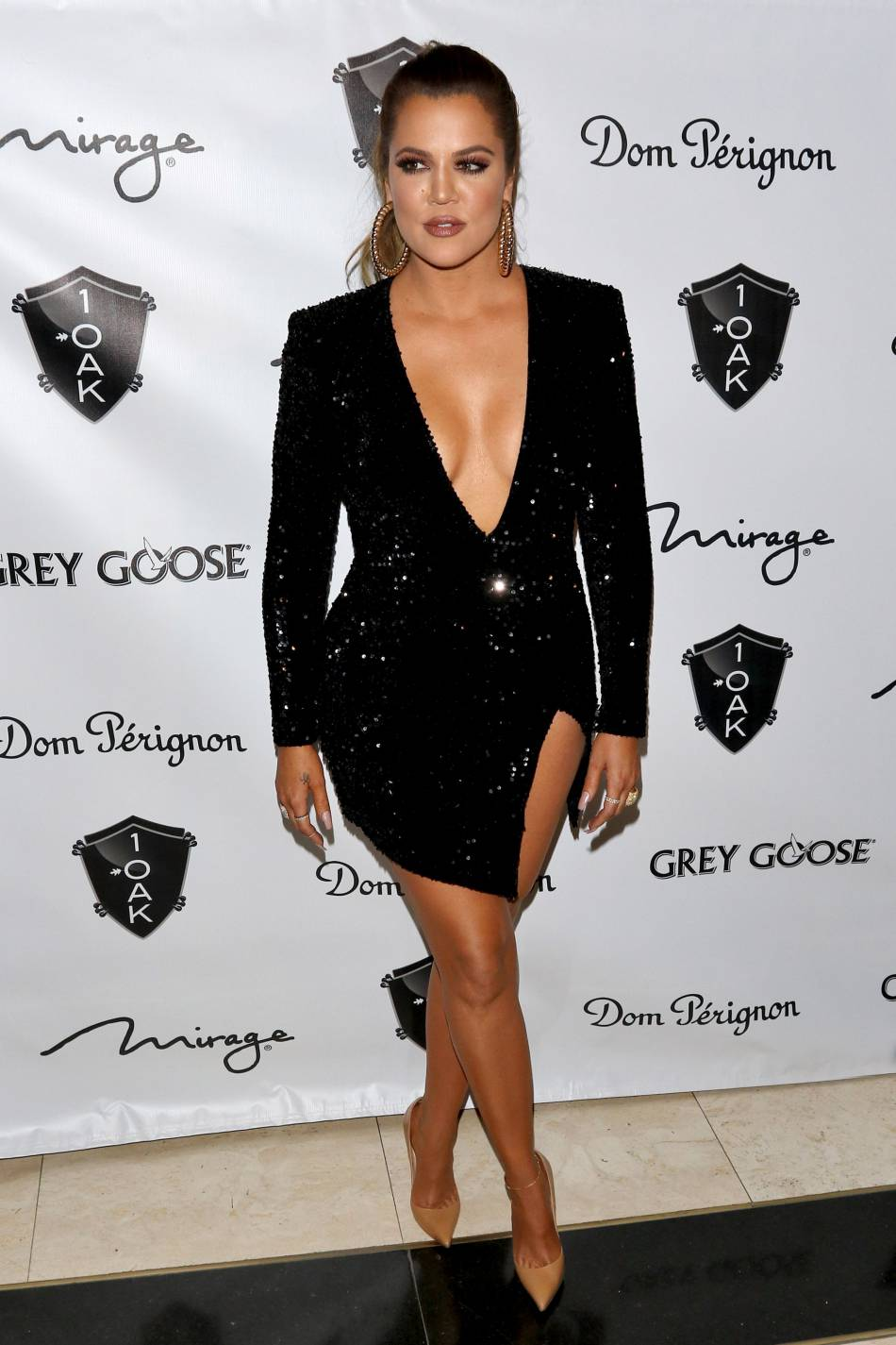 Khloe Kardashian torride et glamour avant son émission.