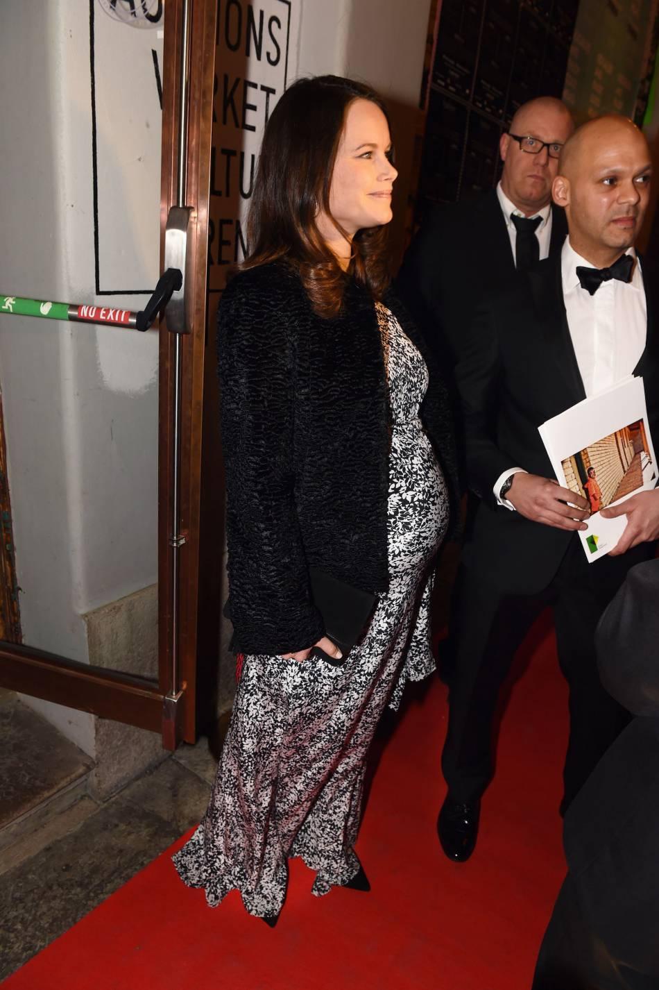 La princesse attend son premier enfant dont la naissance est prévue en avril.