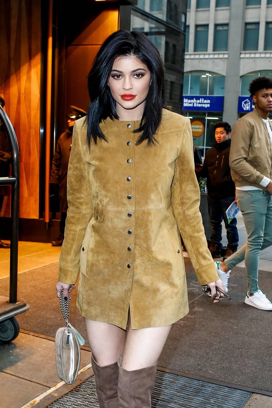 A dix-huit ans seulement, Kylie Jenner ne ressemble plus en rien à la jeune ado qu'elle était.