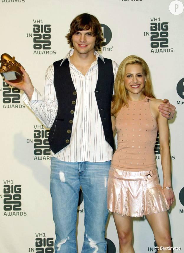 Ashton et Brittany sur le red carpet à Los Angeles en 2002.