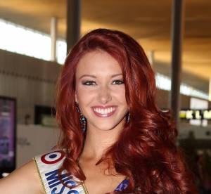 Delphine Wespiser : instant bronzage en bikini pour l'ancienne Miss France