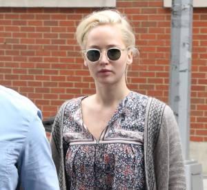 Jennifer Lawrence : adorable look hippie mais moue boudeuse pour l'actrice