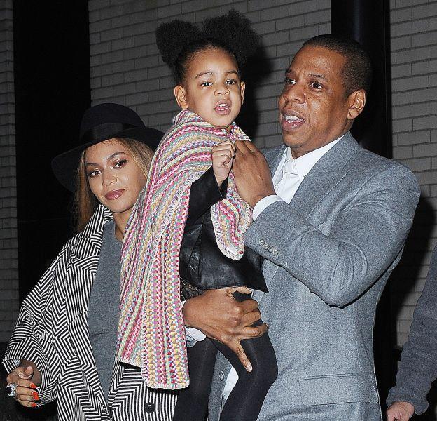 Beyoncé, Jay-Z et Blue Ivy se sont offert un moment en famille.